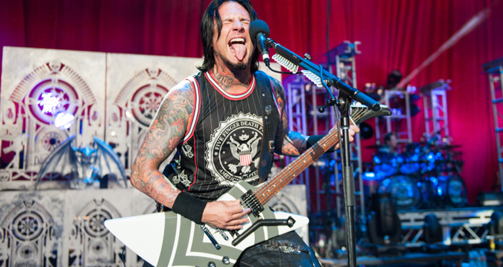 Interview With Jason Hook of Five Finger Death Punch