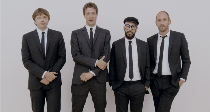 OK Go Hits the Road with Hungry Ghosts