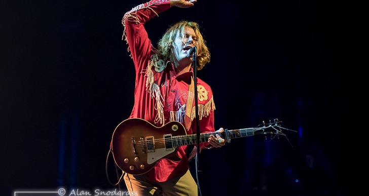 Ty Segall at the Fox Theater in Oakland