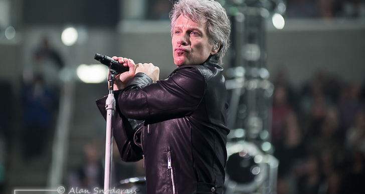 Bon Jovi at the SAP Center in San Jose