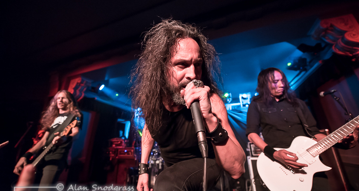 Death Angel at Social Hall SF in San Francisco