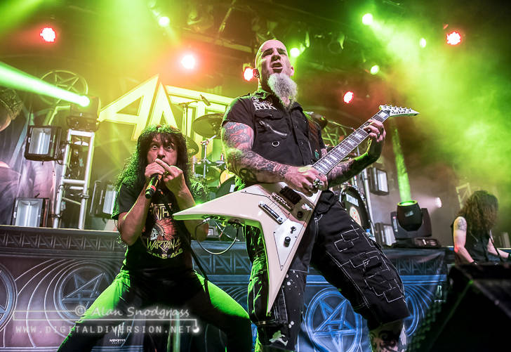 Anthrax, Killswitch Engage, The Devil Wears Prada and Code Orange at The Fillmore in San Francisco