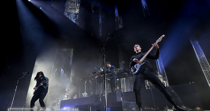 The xx and Sampha at the Bill Graham Civic Auditorium in San Francisco