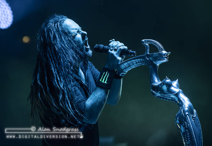 Korn, Stone Sour, Yelawolf and Islander at The Shoreline Amphitheatre in Mountain View
