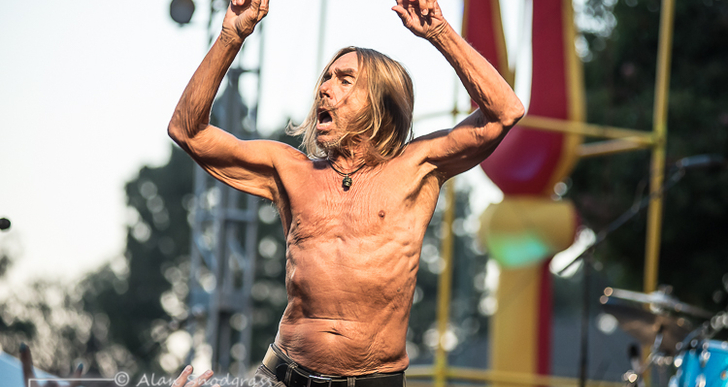 Iggy Pop at Burger Boogaloo in Oakland