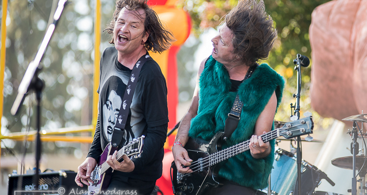 Redd Kross at Burger Boogaloo in Oakland