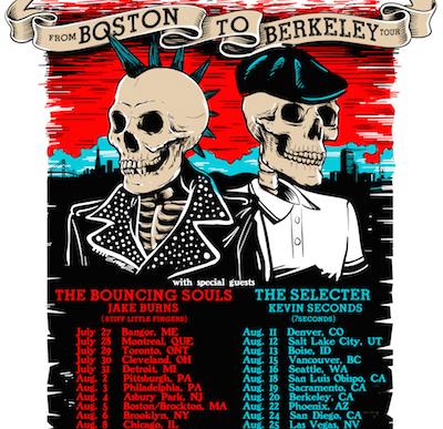 "Rancid and Dropkick Murphys kick off ""From Boston To Berkeley Tour"""