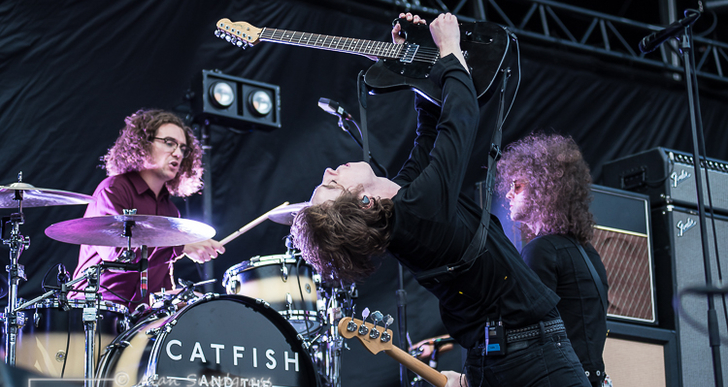 Catfish and the Bottlemen at the Oakland Coliseum