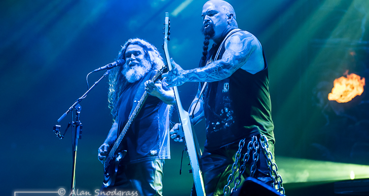 Slayer, Lamb of God and Behemoth at the Bill Graham Civic Auditorium in San Francisco