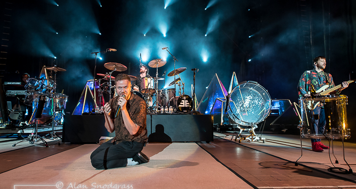 Imagine Dragons, Grouplove and K. Flay at the Shoreline Amphitheatre in Mountain View