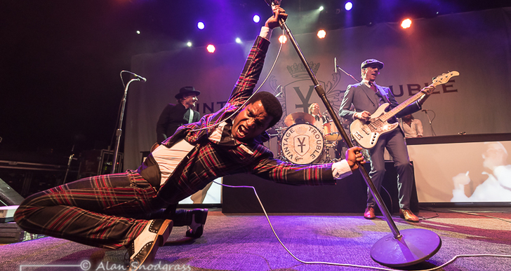 Vintage Trouble and Desi Valentine at the Fillmore in San Francisco