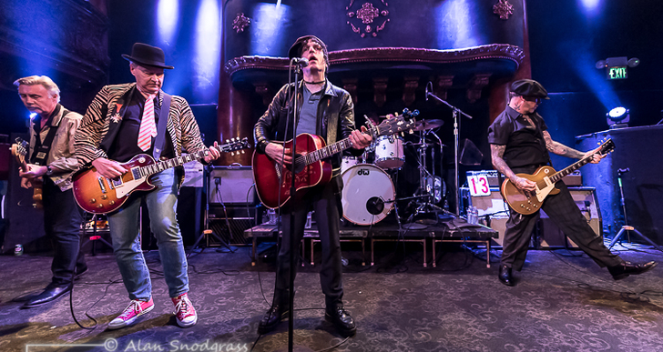 L.A.M.F, Jesse Malin and Max Fite at the Great American Music Hall in San Francisco