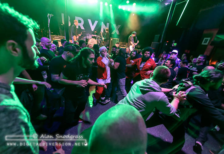 The Bronx, Culture Abuse and Sharp Shock at Slim's in San Francisco