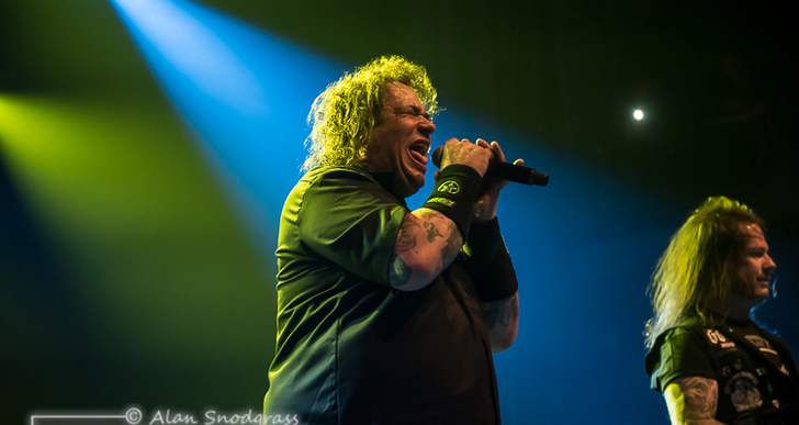 Exodus, Municipal Waste and Hellfire at the Regency Ballroom in San Francisco