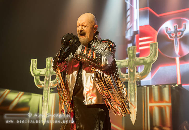 Judas Priest, Saxon and Black Star Riders at the Warfield in San Francisco