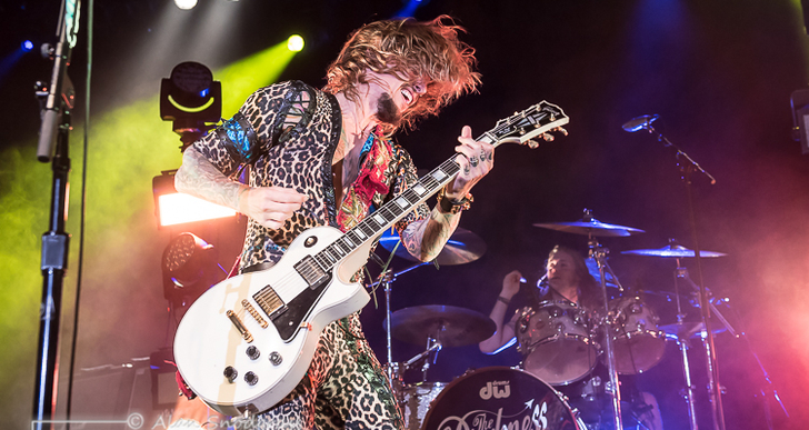 The Darkness and Diarrhea Planet at the Regency Ballroom in San Francisco