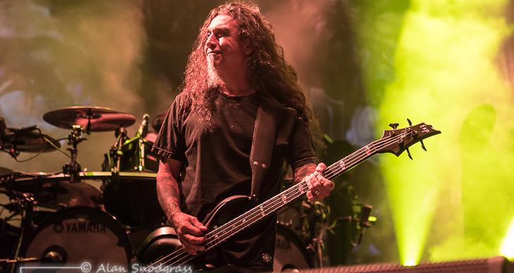 Slayer, Lamb of God, Anthrax, Behemoth and Testament at Papa Murphy's Park in Sacramento