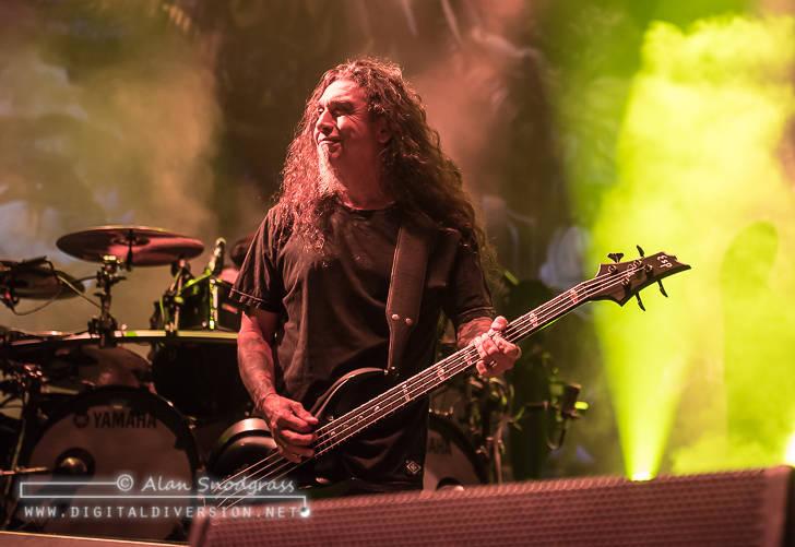 Slayer, Lamb of God, Anthrax, Behemoth and Testament at Papa Murphy's Park in Sacramento