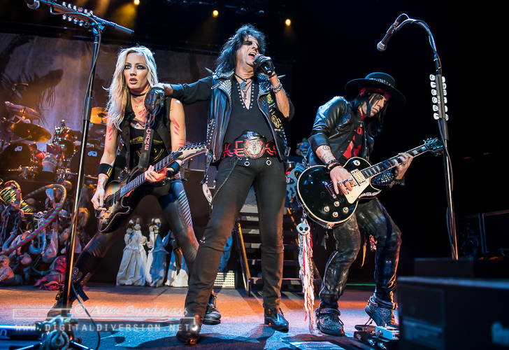 Alice Cooper at the City National Civic in San Jose