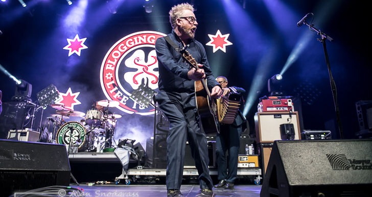 Flogging Molly, Dropkick Murphys and Jake Burns at the Bill Graham Civic Auditorium in San Francisco