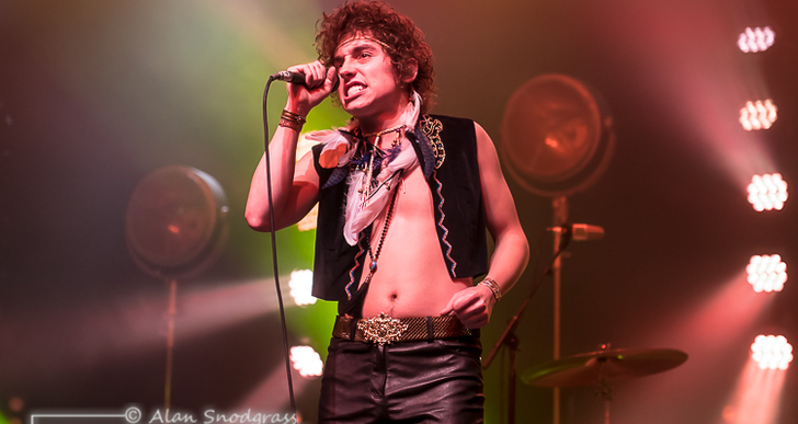 Greta Van Fleet and Dorothy at the City National Civic in San Jose
