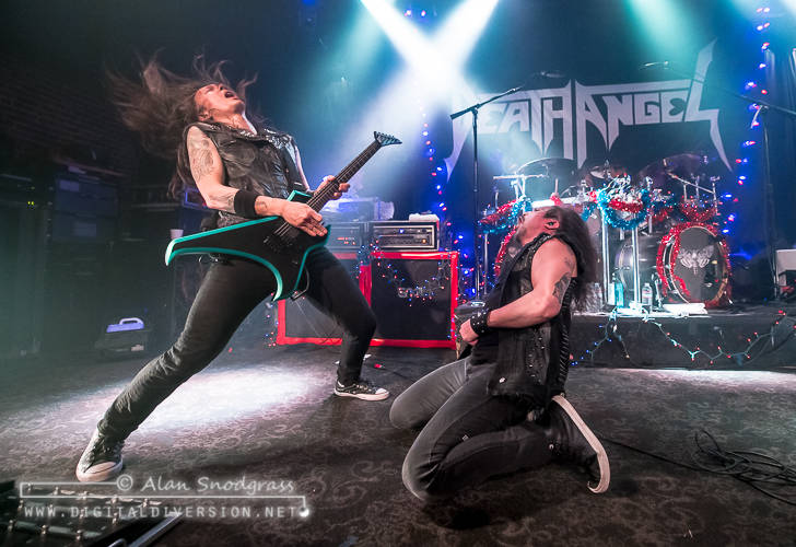 Death Angel, Exmortus and Floating Goat at Slim's in San Francisco