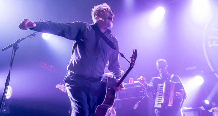 Flogging Molly, Face to Face and Matt Heckler at the Catalyst in Santa Cruz
