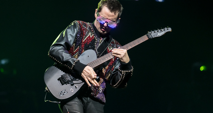 Muse at Oracle Arena in Oakland