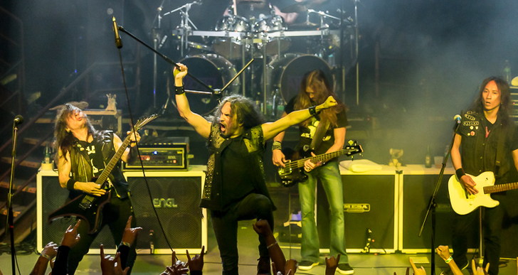 Death Angel, Striker and Dress The Dead at DNA Lounge in San Francisco