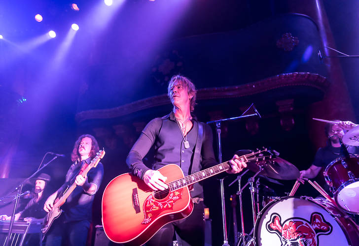 Duff McKagan and Shooter Jennings at the Great American Music Hall in San Francisco