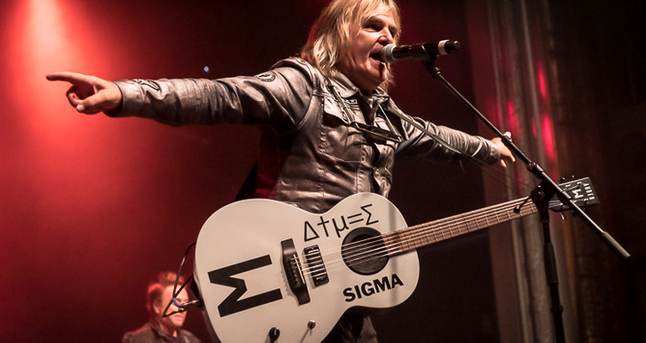 The Alarm, Modern English and Jay Aston's Gene Loves Jezebel at the Regency Ballroom in San Francisco