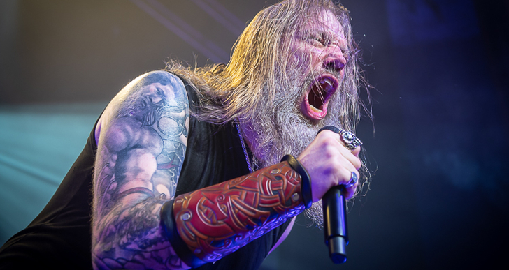 Amon Amarth, Arch Enemy, At The Gates and Grand Magus at The Warfield in San Francisco
