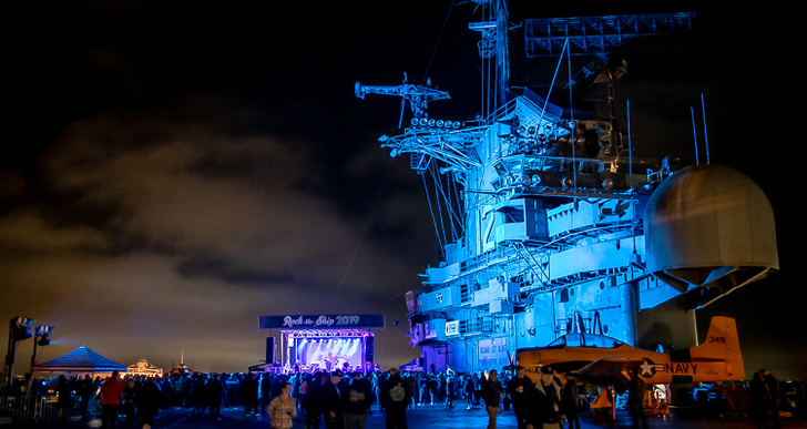 Rock The Ship at USS Hornet in Alameda