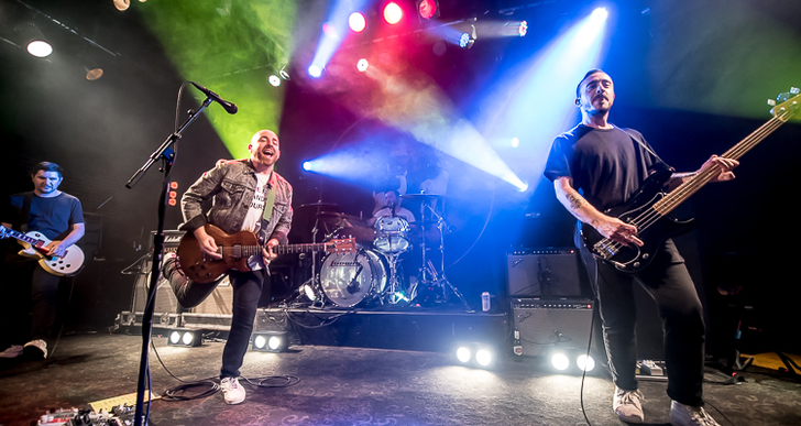 The Menzingers, Tigers Jaw and Culture Abuse at Slim's in San Francisco