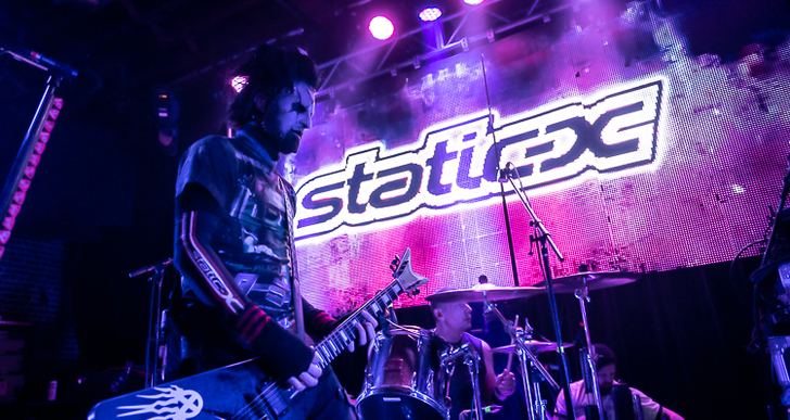 Static-X, The Watchers, Davey Suicide and Society 1 at Slim's in San Francisco