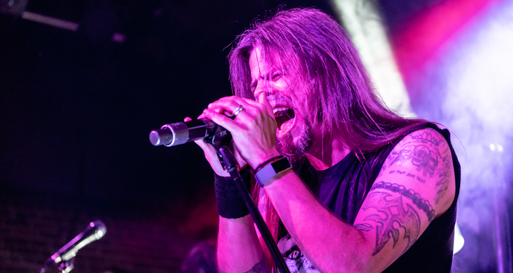 Queensryche, John 5 and Eve To Adam at Slim's in San Francisco