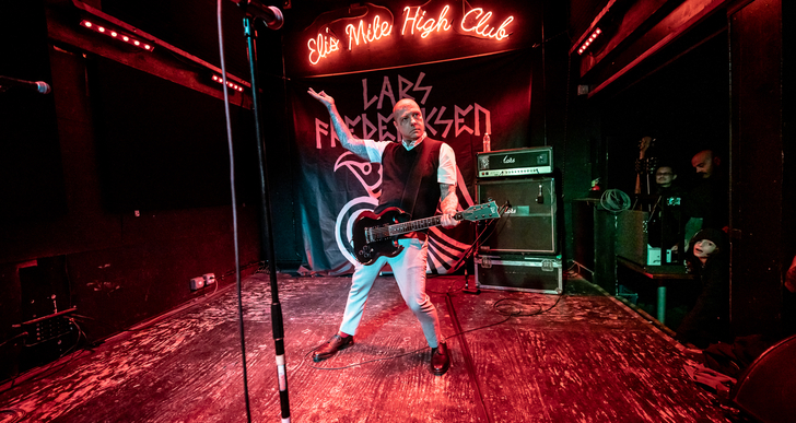 Lars Frederiksen at Eli's Mile High Club in Oakland