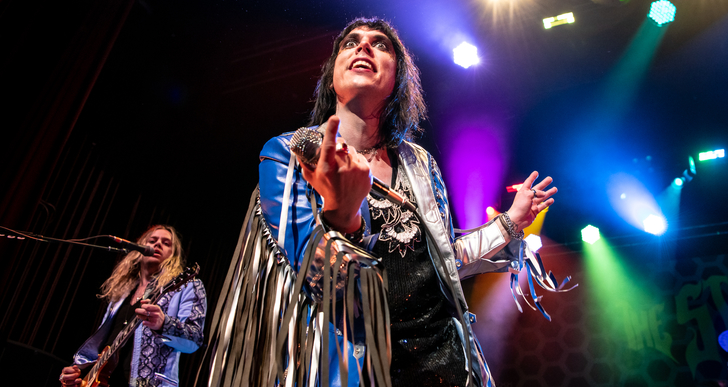 The Struts and Starcrawler at The Warfield in San Francisco